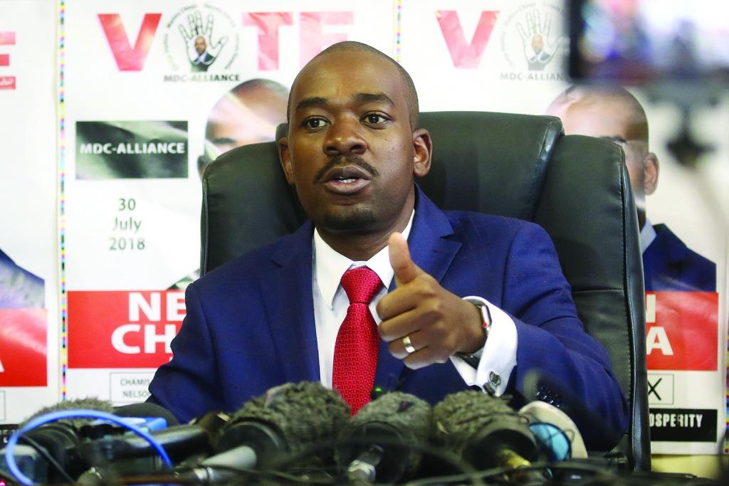 Letter to Nelson 'Mischief' Chamisa