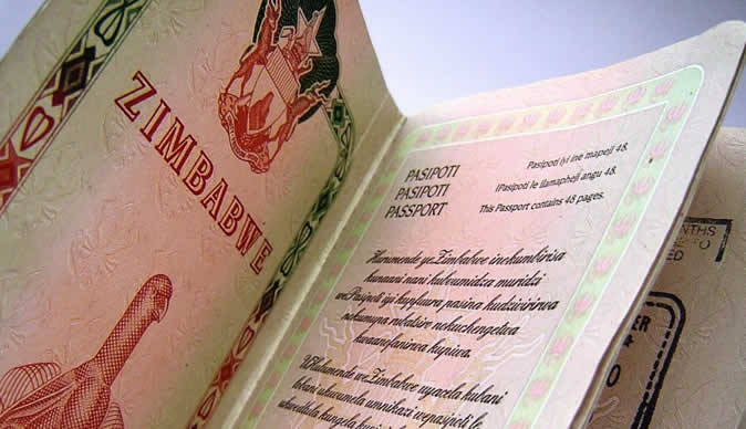 'Zimbabwe running out of passport paper'