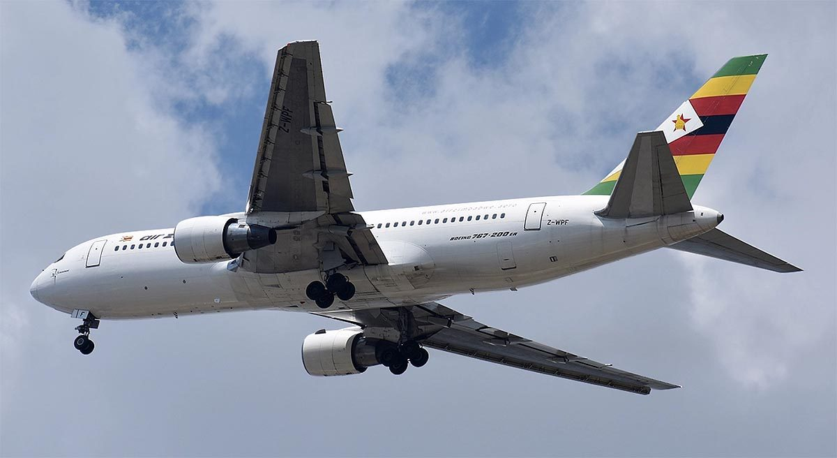 Air Zimbabwe to auction old airplanes