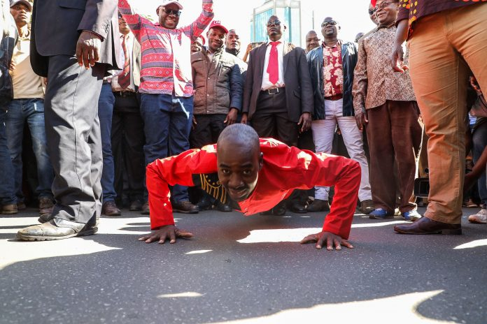 Chamisa to lead anti-Mnangagwa demos from the front