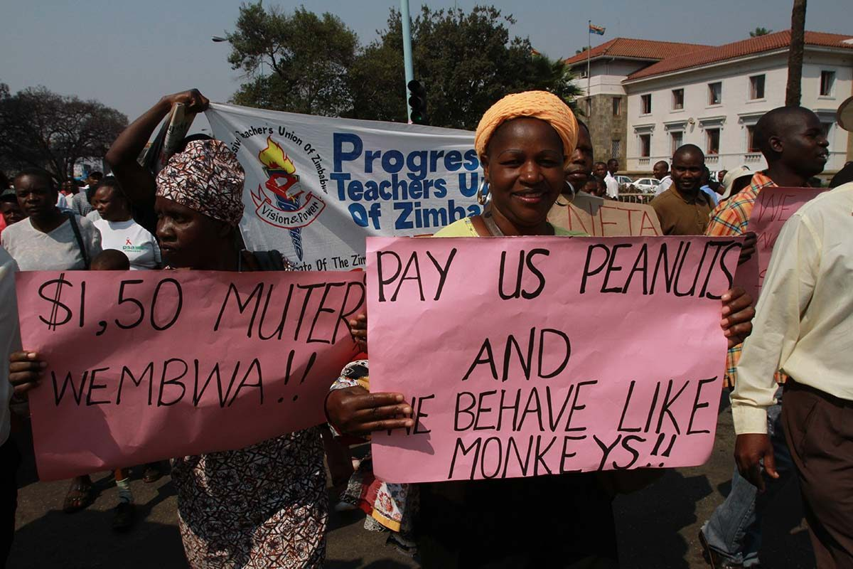 Zimbabwe teachers' union strike starts Tuesday