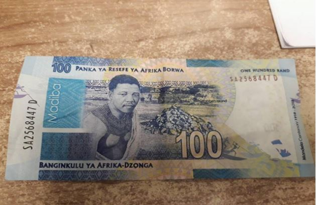 How to identify fake Mandela bank note or coin